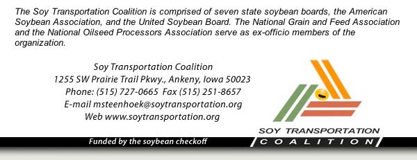 December Soy Transportation Coalition eNews
