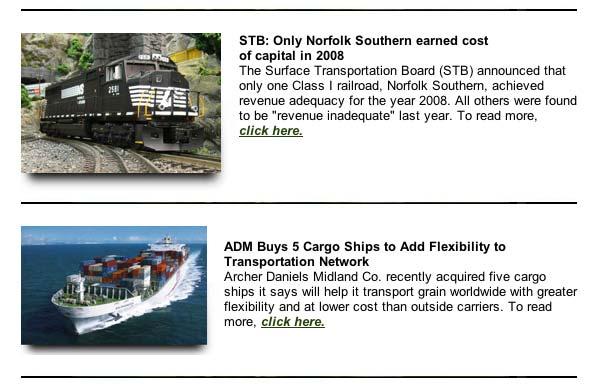 Soy Transportation Coalition November eNews